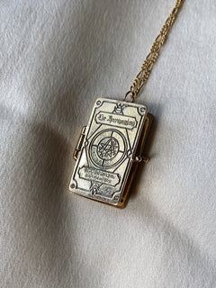 Necronomicon Locket