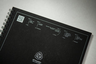 SCP Foundation Notebook