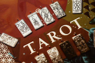 Strength Tarot Card Necklace