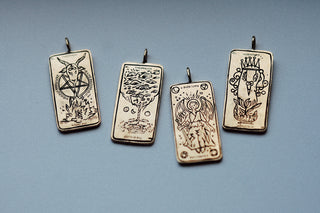 The Witch Tarot Card Necklace