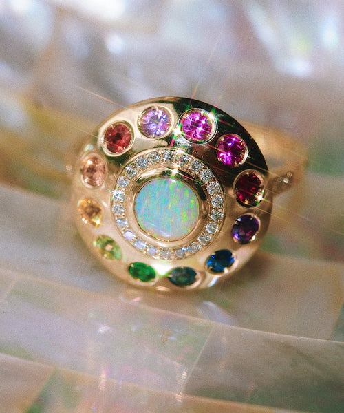 Solari Urobune Princess UFO Ring