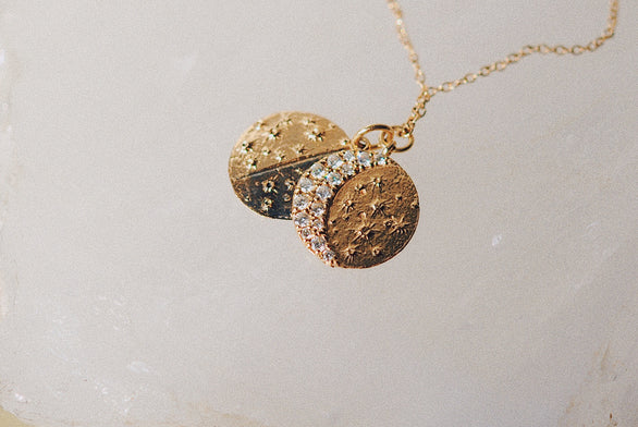 Lunar Phase Necklace
