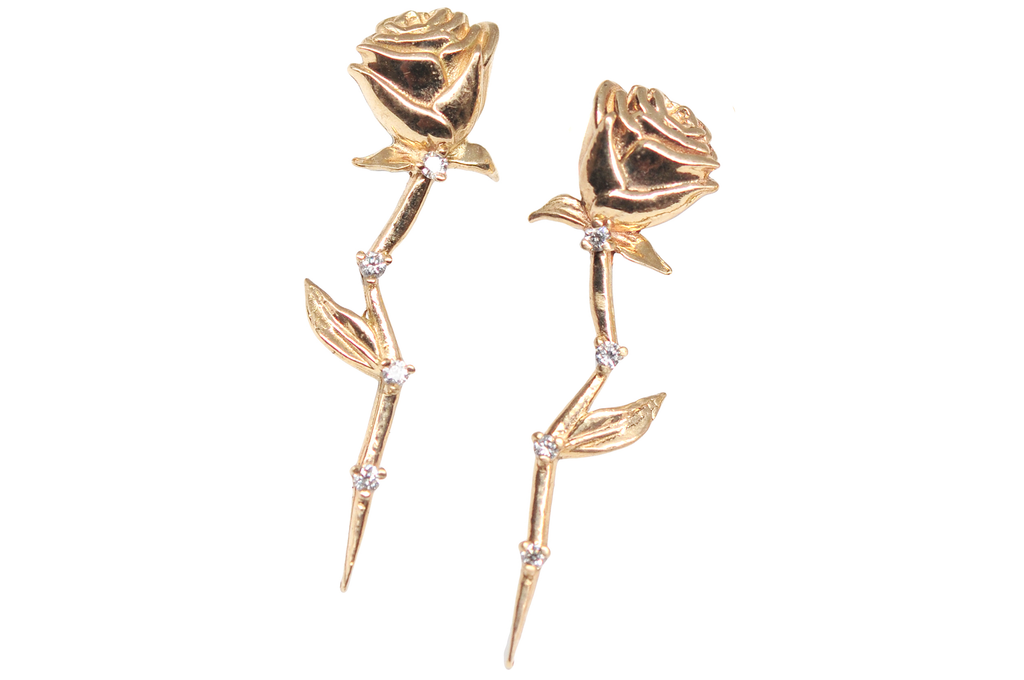 Celestial Rose Earring