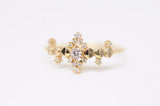 Diamond Cosmic Witch Ring