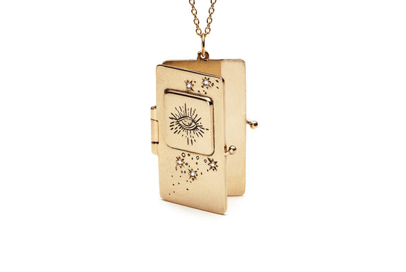 Illuminated Book Locket