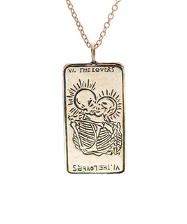 The Lovers Tarot Card II. Necklace