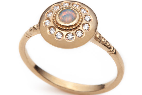 Royal Dynasty Lunari UFO Ring