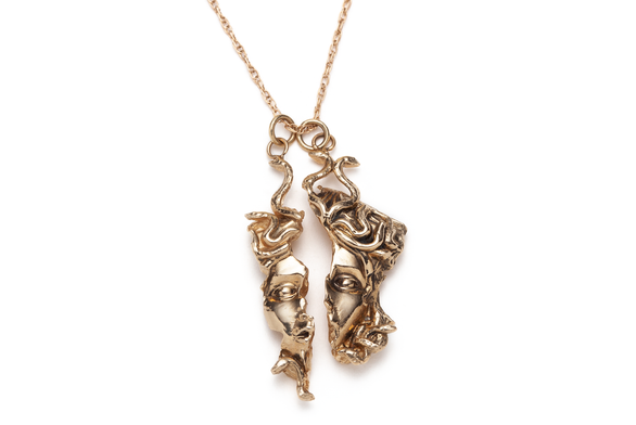 East Medusa Relic Necklace
