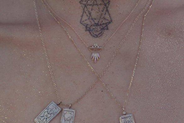 Tender Abduction UFO Necklace
