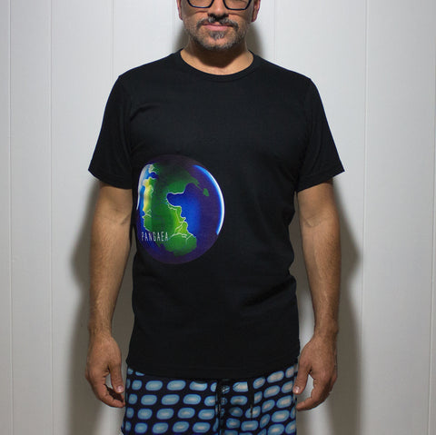 """PANGAEA"" organic cotton - BLACK"