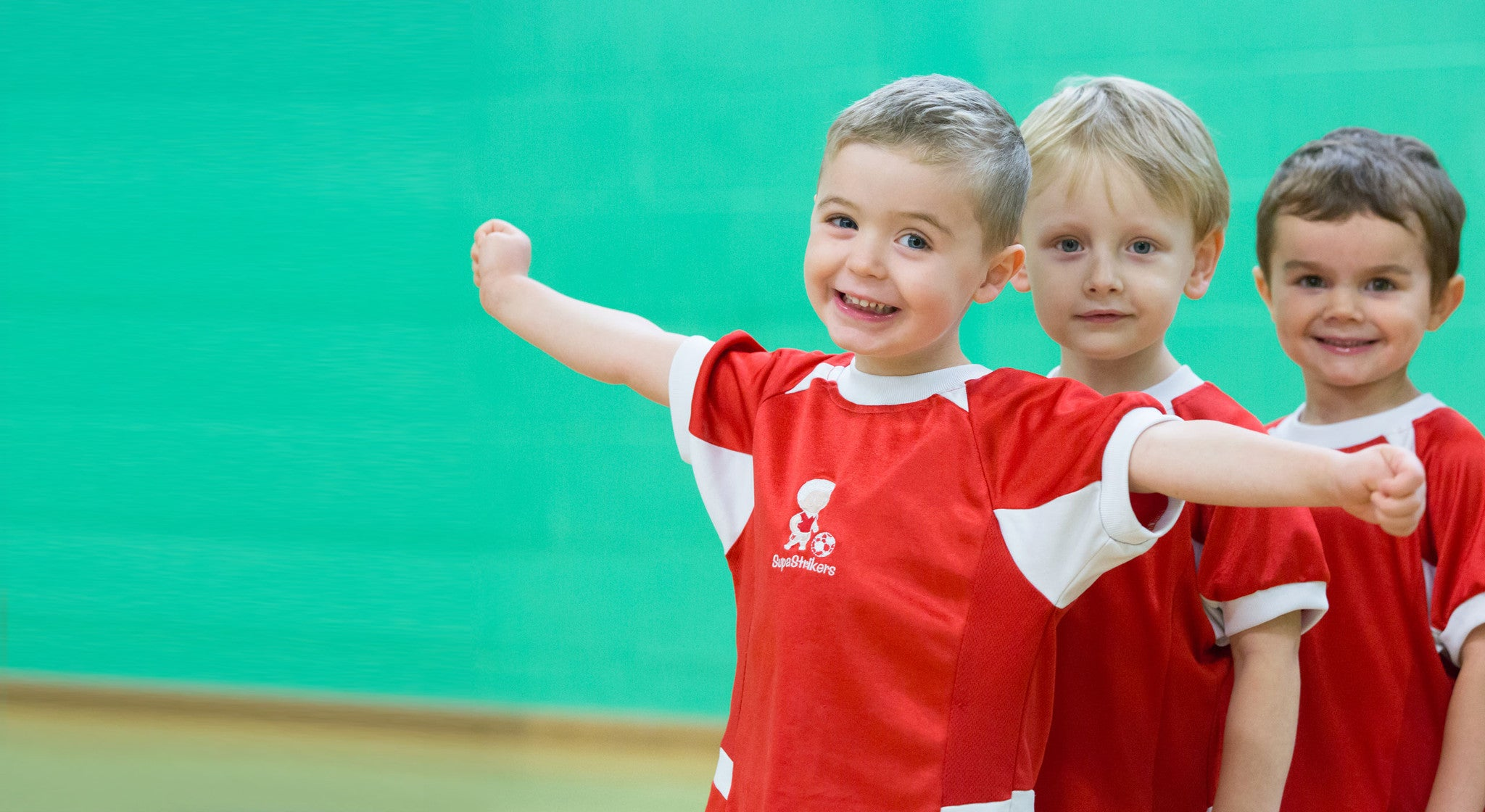 Football coaching for pre-school children
