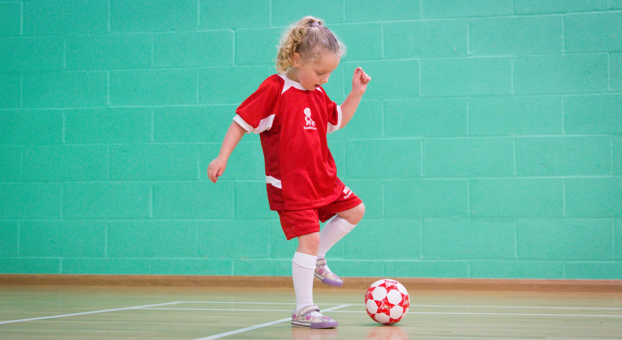 Pre-school soccer classes