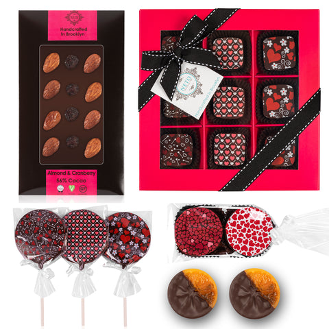 Valentine's Day Gift Assortment - Vegan. Gluten Free. Kosher Parve