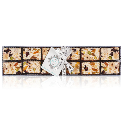 Chocolate Dipped Nougat Gift Box