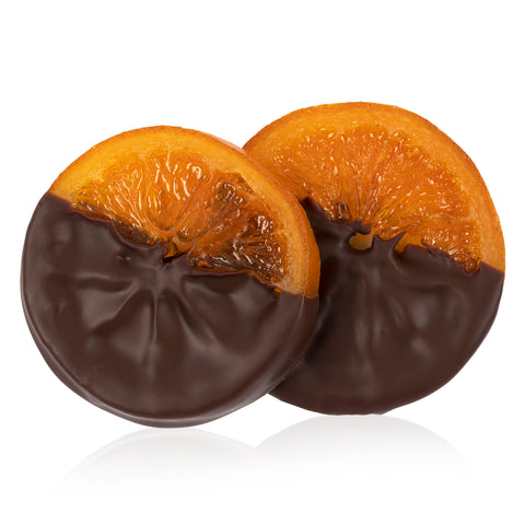 Chocolate Dipped Orange Slice - Pair