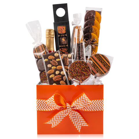 Traditional Chocolate Gift Basket