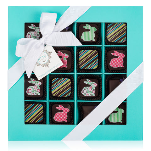 Easter Truffles Collection - Aqua Box. 16 PCS