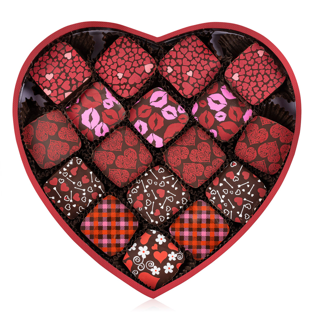 Mother's Day Heart Shaped Personal Chocolate Gift Box