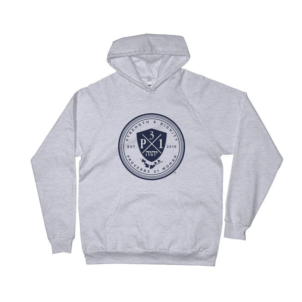 Signature P3One Emblem Hoodie (Heather Grey)