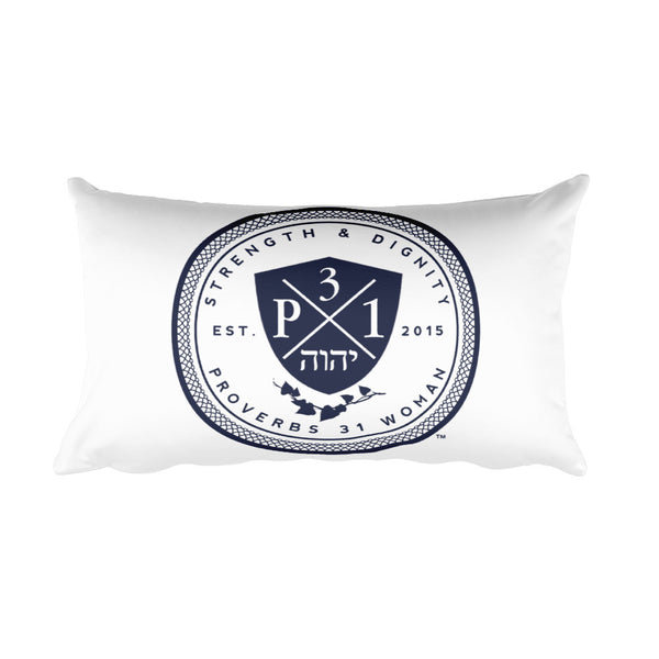 Signature P3One Emblem Rectangular Pillow