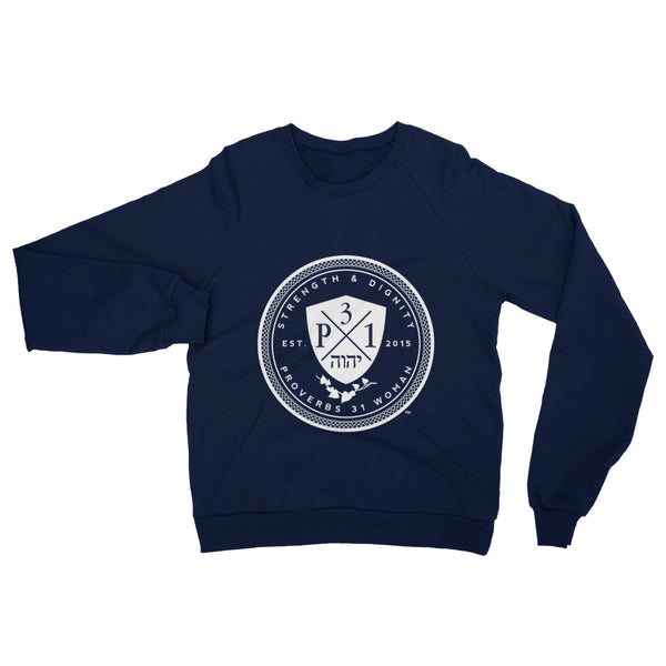 Signature P3One Emblem Raglan sweater (Navy)