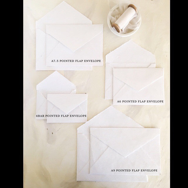 Cotton Rag Envelopes