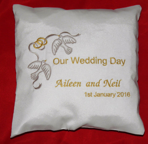 RC1 Wedding Ring Cushion €25
