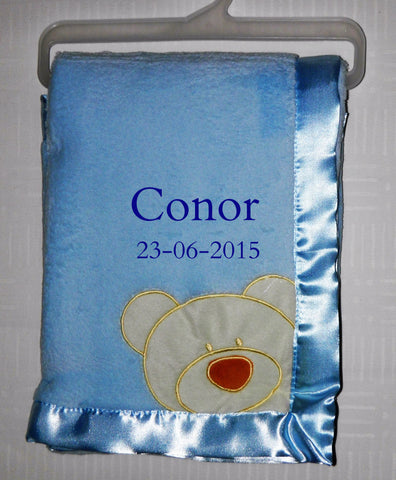 B01 Teddy in corner Blanket €22