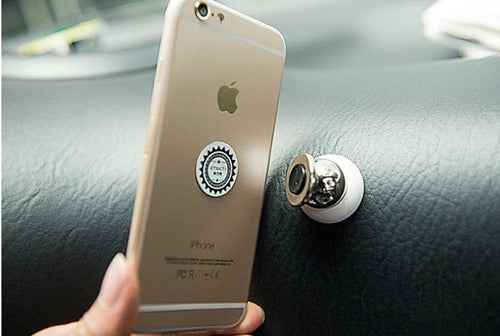 Universal Magnetic Car Holder for iPhone, Smart Phones and GPS
