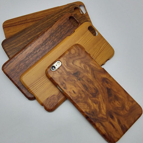 Hard case for apple iphone6 iphone 6s 6 s 4.7 wood grain protective