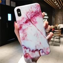 Load image into Gallery viewer, Fancy iPhone Marble Case Cover Soft TPU - BUY 1 GET 1 FREE