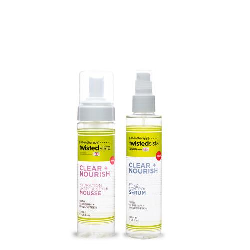 Hydration Shape & Style Mousse & Frizz Control Serum - Twisted Sista