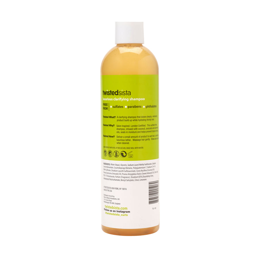 Luxurious Clarifying Shampoo - Twisted Sista