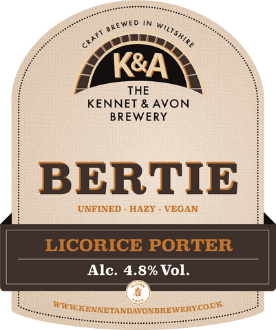 Bertie 4.8% - Bag in Box