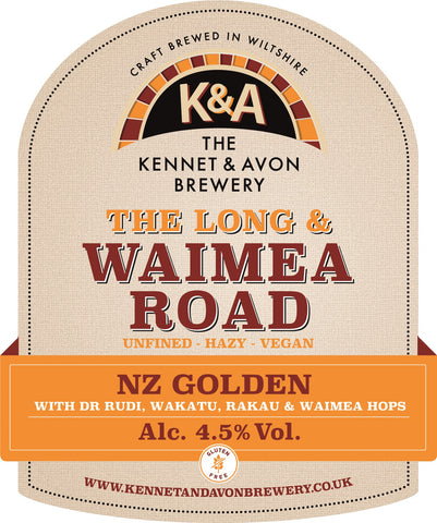 Long & Waimea Road 4.5% - bag in box