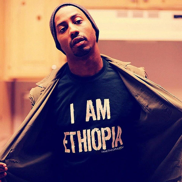 Classic 'I Am Ethiopia' Men's T-shirt