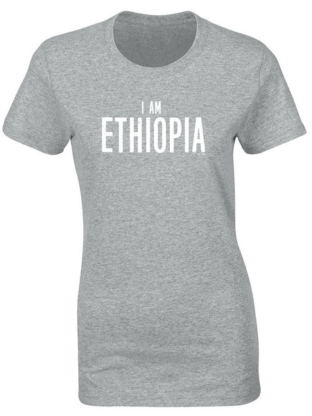**EXCLUSIVE** New 'I Am Ethiopia' Women's T-shirt