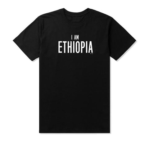 **EXCLUSIVE** New 'I Am Ethiopia' Men's T-shirt