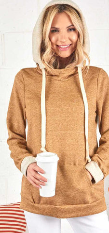 Honey Two-Tone Hoodie