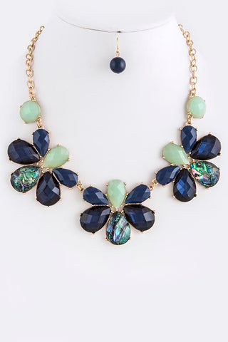 Jewel Link Necklace Set