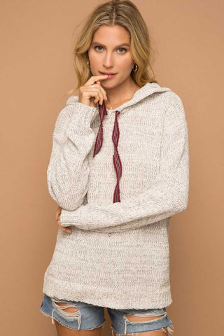 Chenille Hoodie Pullover