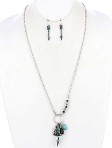 Wild at Heart Charm Necklace Set