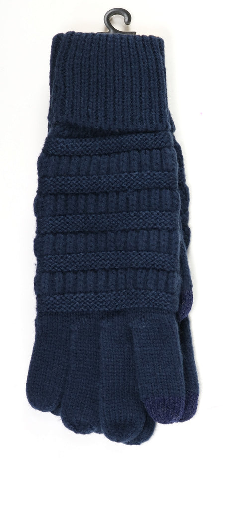 C.C Lined Knit Gloves