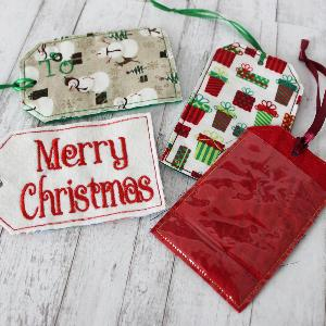 Personalized Christmas Tags - Several Patterns Available!