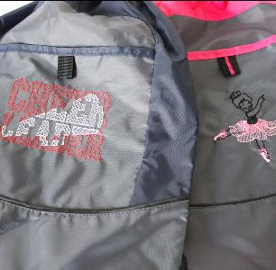 Drawstring Dancer and Cheerleading Bags - Available in Blue and Pink