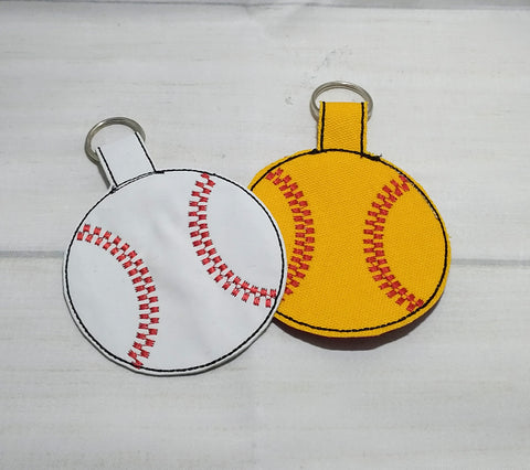 Softball or Baseball Bag Tags