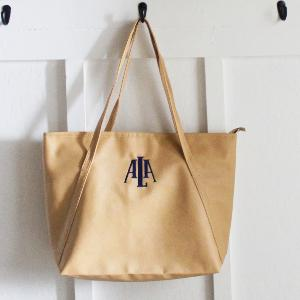 Teacher Tote - Medium Personalized Bag with Logo or Monogram