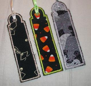 Set of Halloween Bookmarks- Perfect for a Class Gift or Allergy Gift