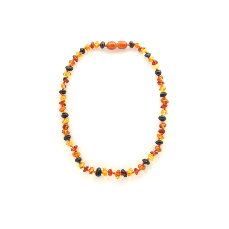 Polished Multi Colored Children's Necklace