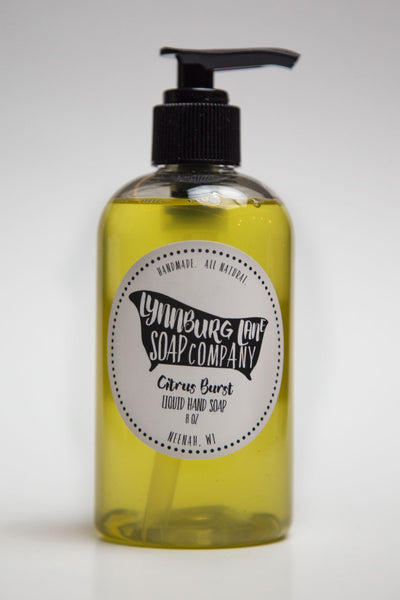 Organic Citrus Burst Hand Soap